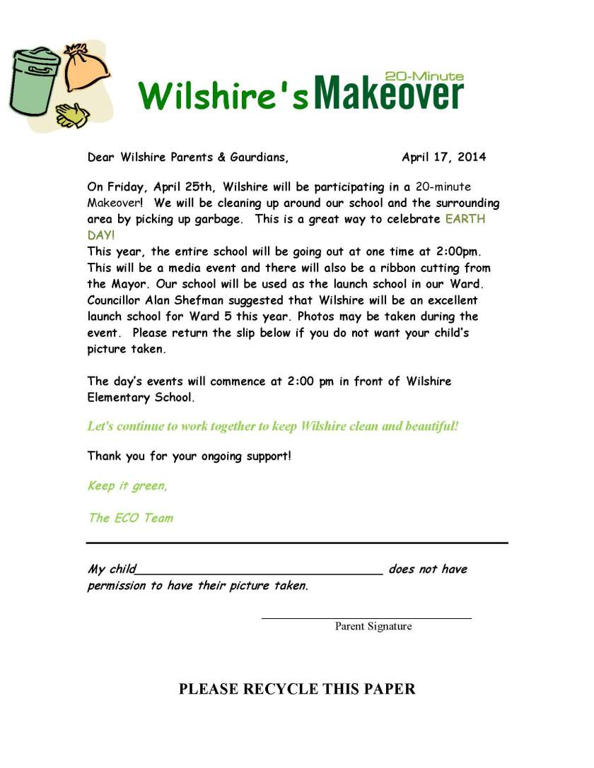 Wilshire 20 Minute Makeover