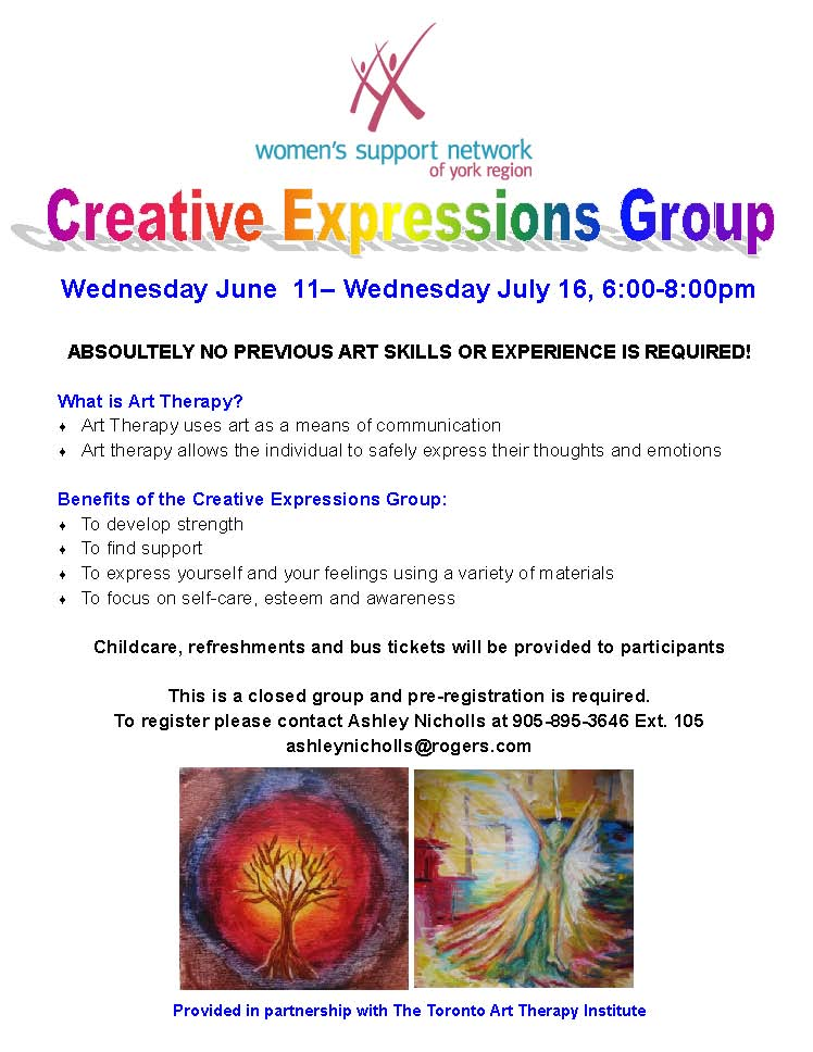 Expressive Arts Group- June 2014