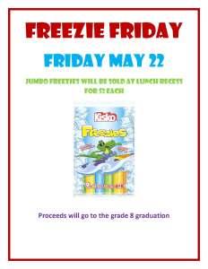 Freezie Friday