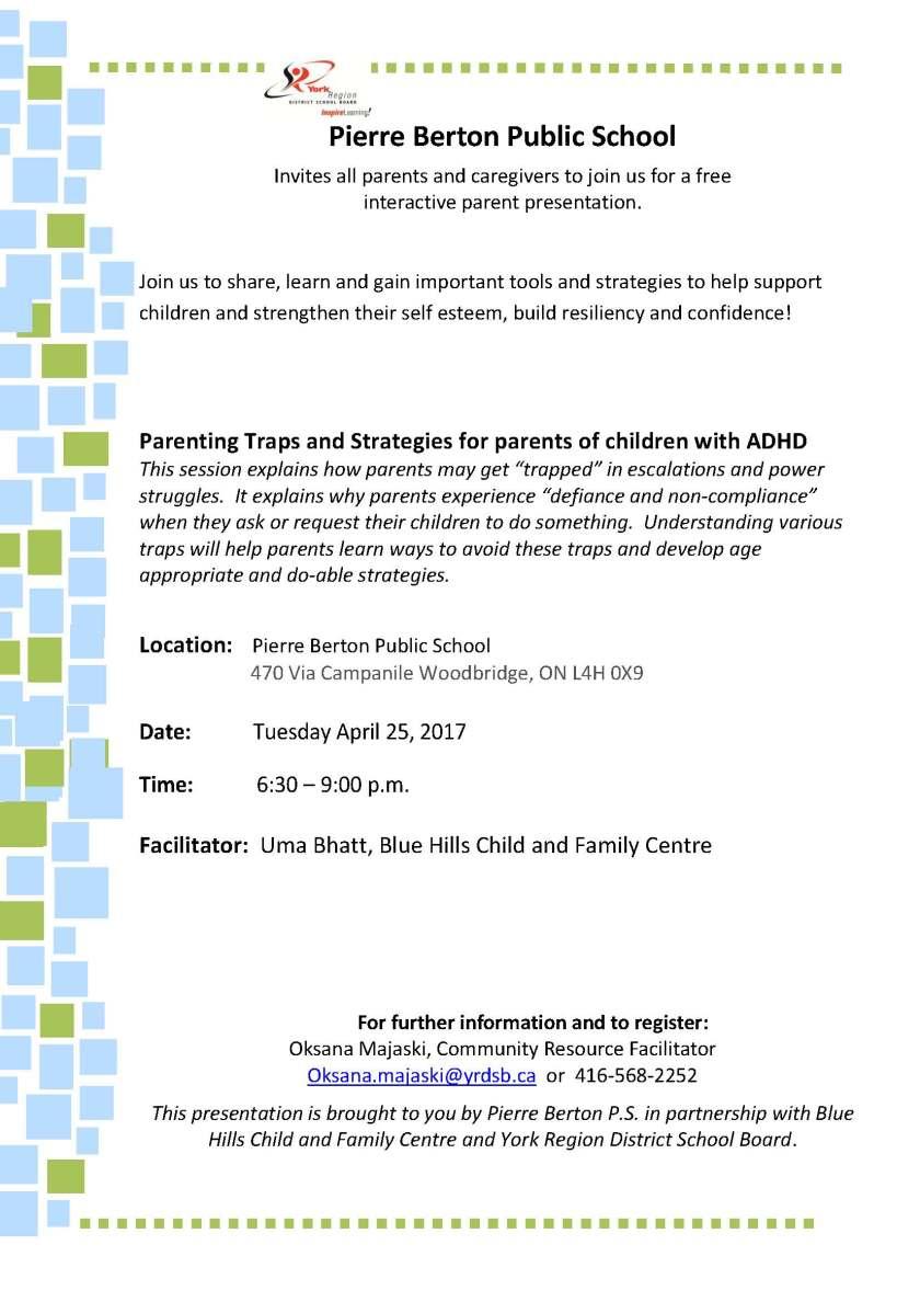 ADHD Parenting Traps Presentation
