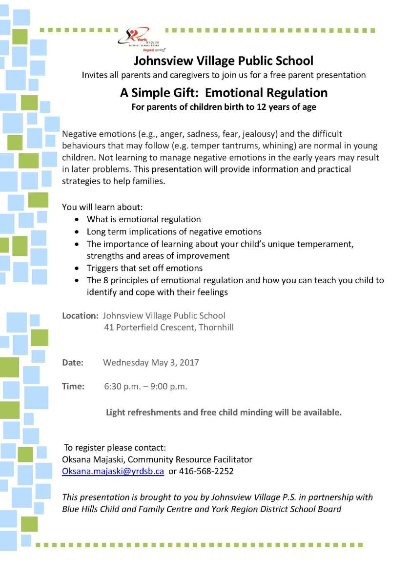 Simple Gift Parenting Workshop May 3