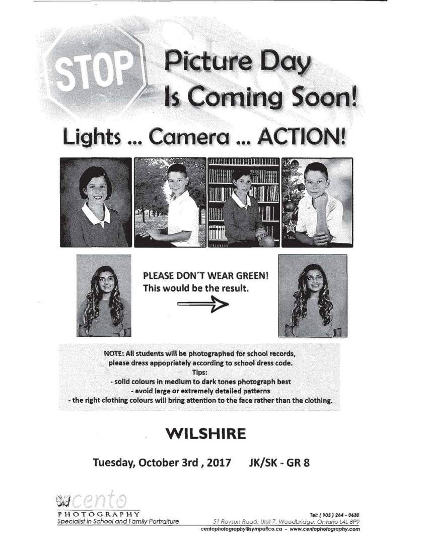 Wilshire ES Picture Day