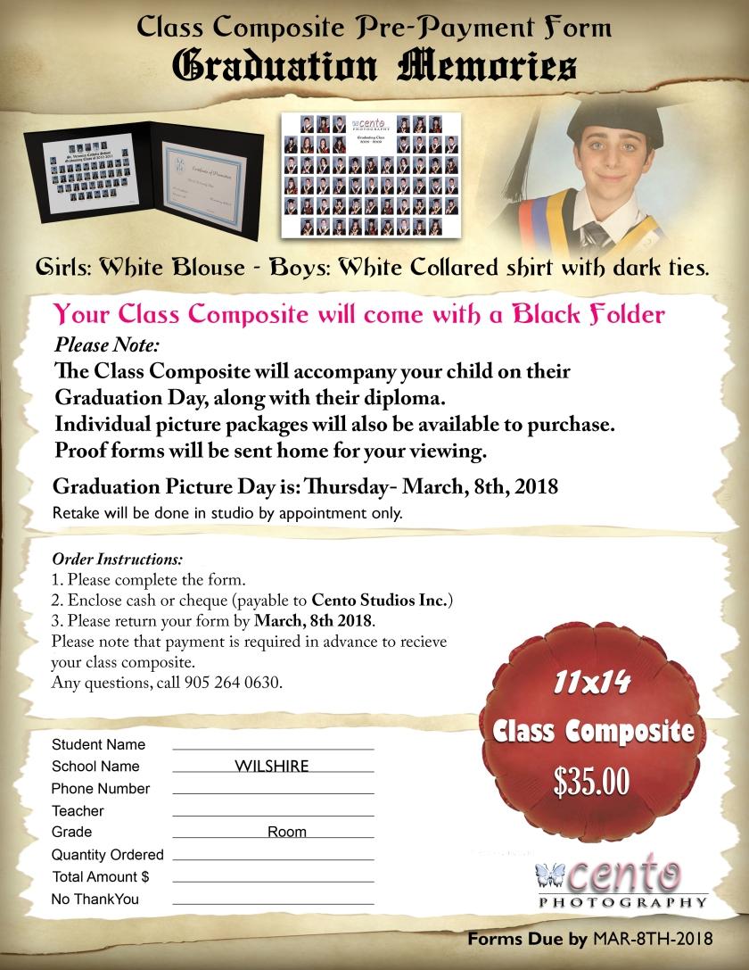 WILSHIRE-Grad 8 Composite Form 2018