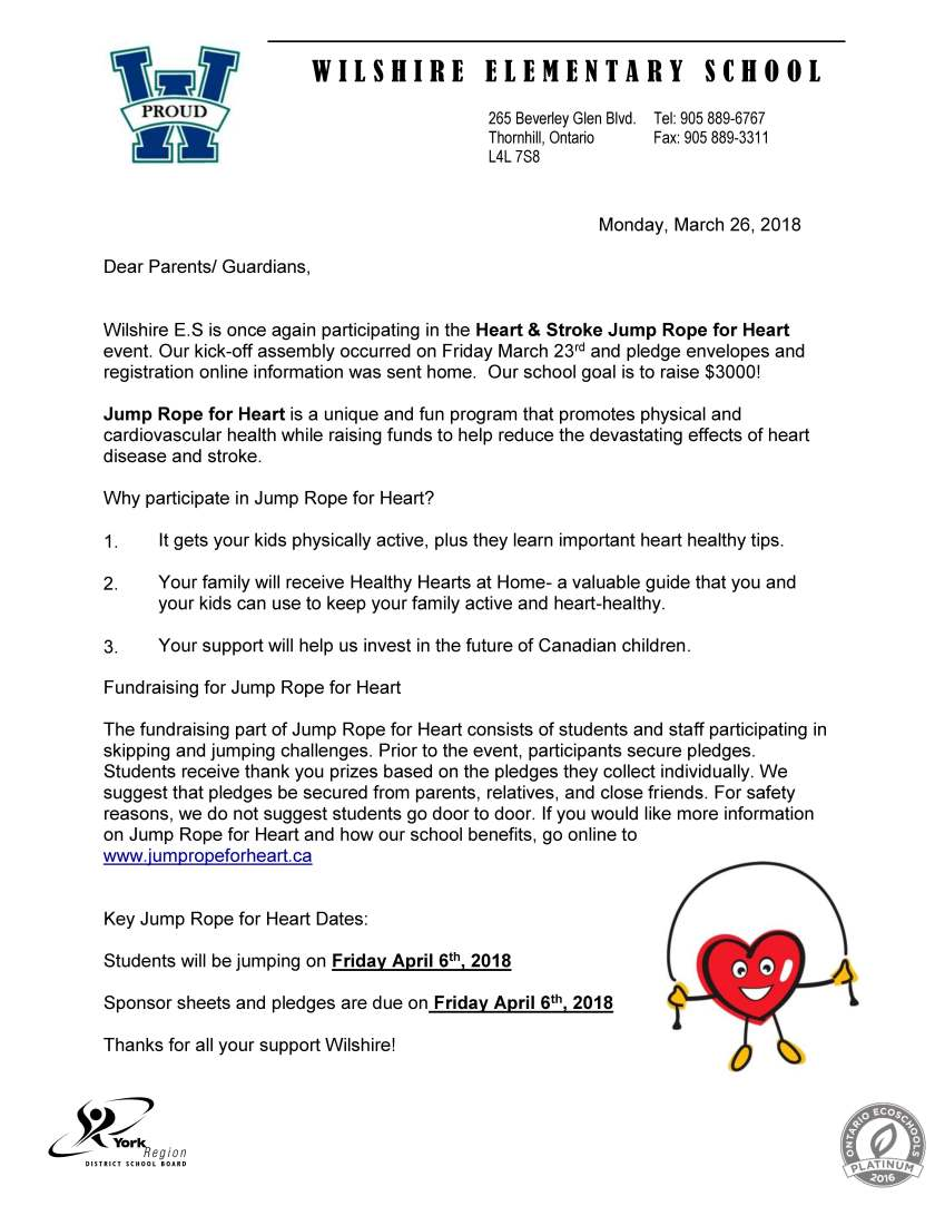 Jump Rope for Heart Communication