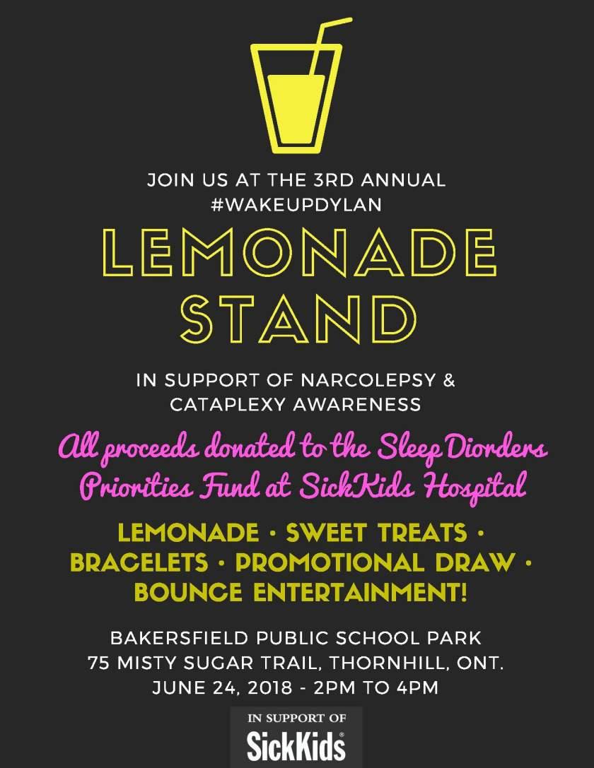 WUD Lemonade Stand Flyer