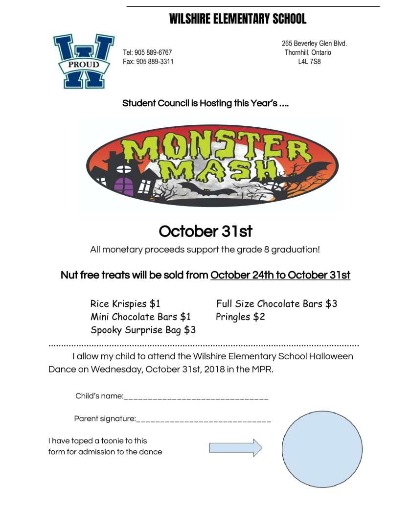 Halloween Dance -Permission form-1