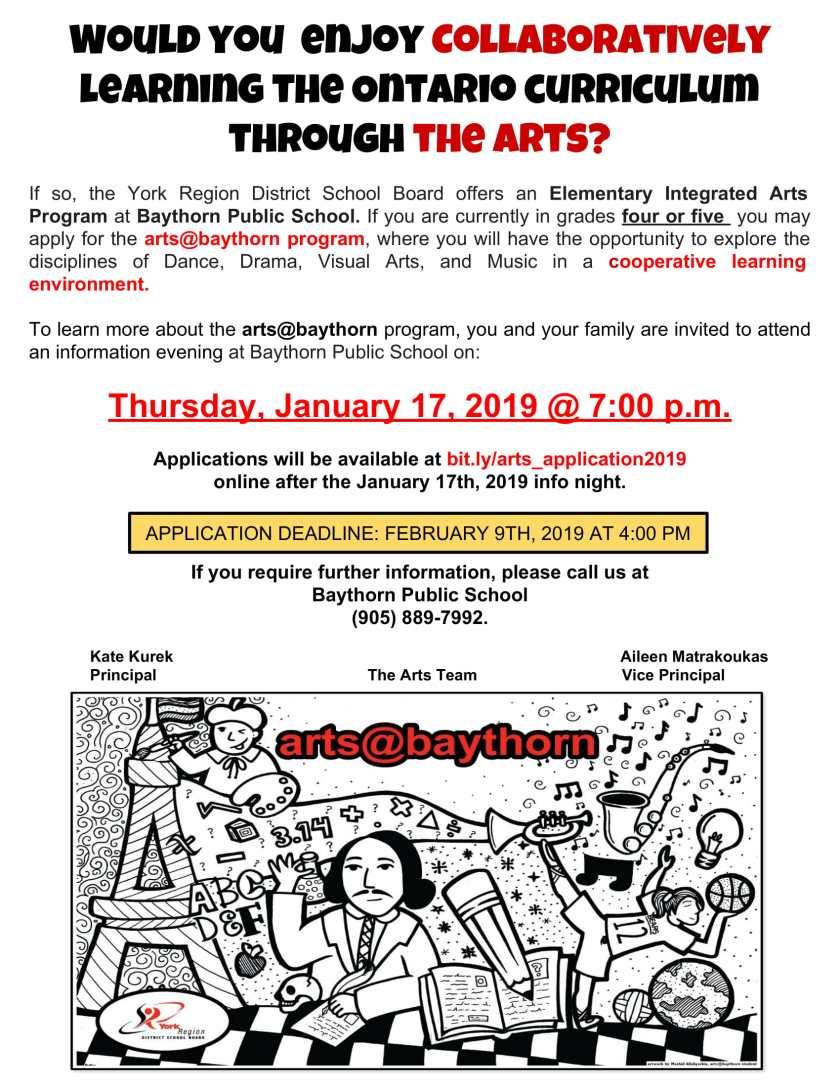 Arts Flyer 2019-1