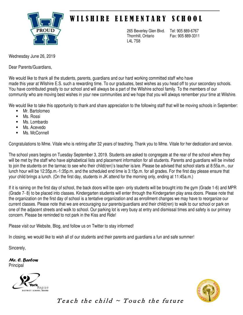 End of year letter-1
