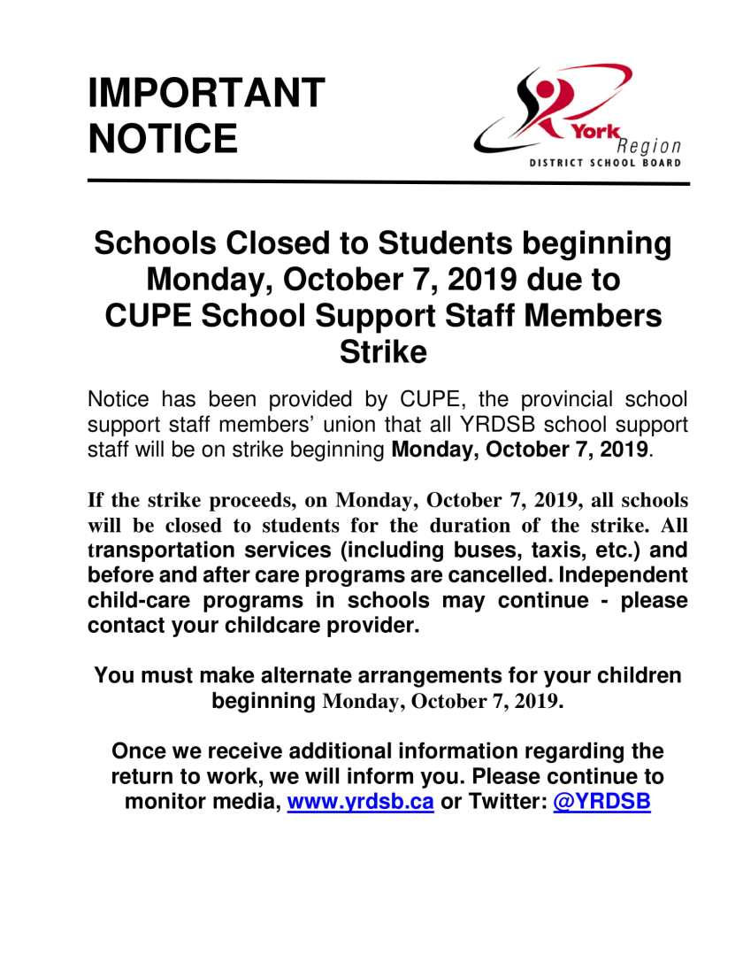 FINAL CUPE Strike Notice Bulletin-1